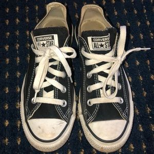 Black Converse Sneakers Men's Size 4, Women's 6